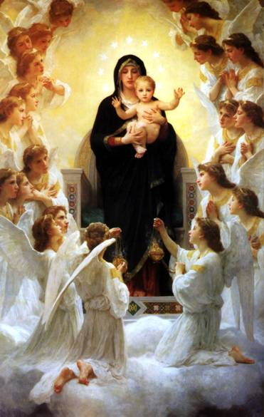 Bouguereau's Virgin With Angels