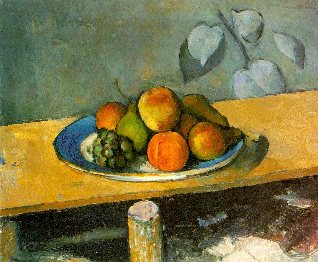 Cezanne's Apples, Peaches, Pears, and Grapes...