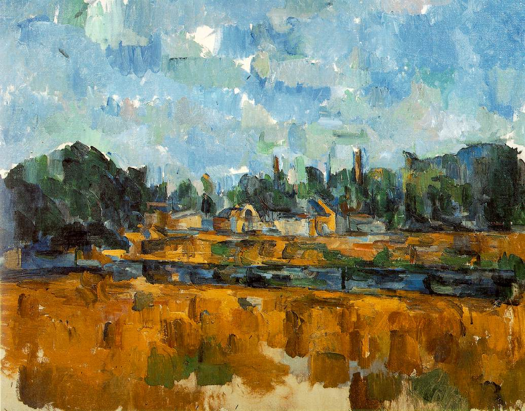 Cezanne's Riverbanks