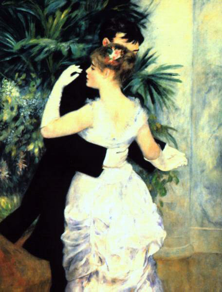 Renoir's Dance In The City