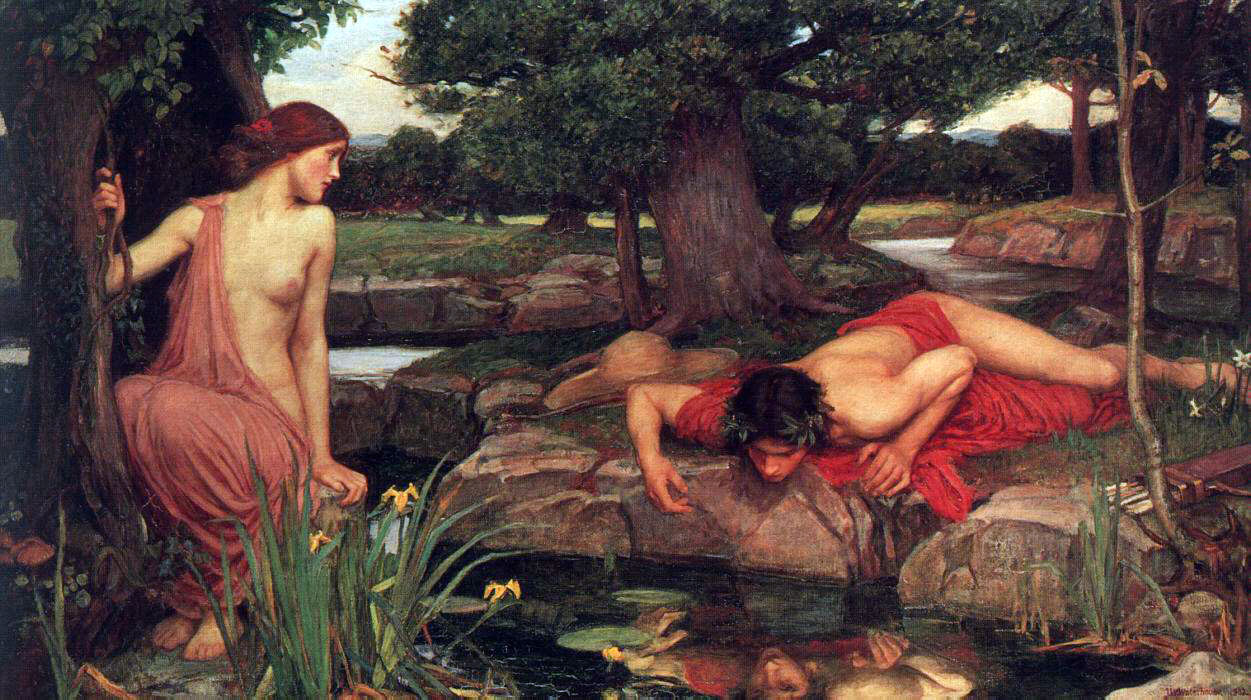Waterhouse's Echo & Narcissus