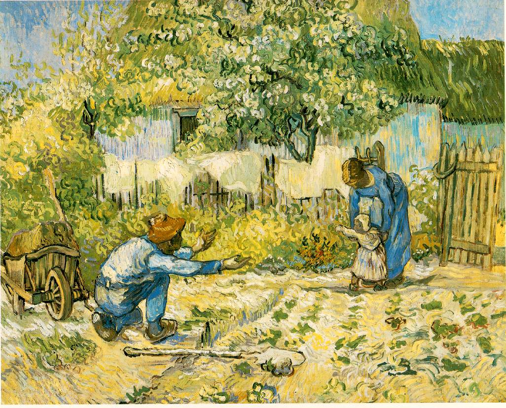 van Gogh's First Steps