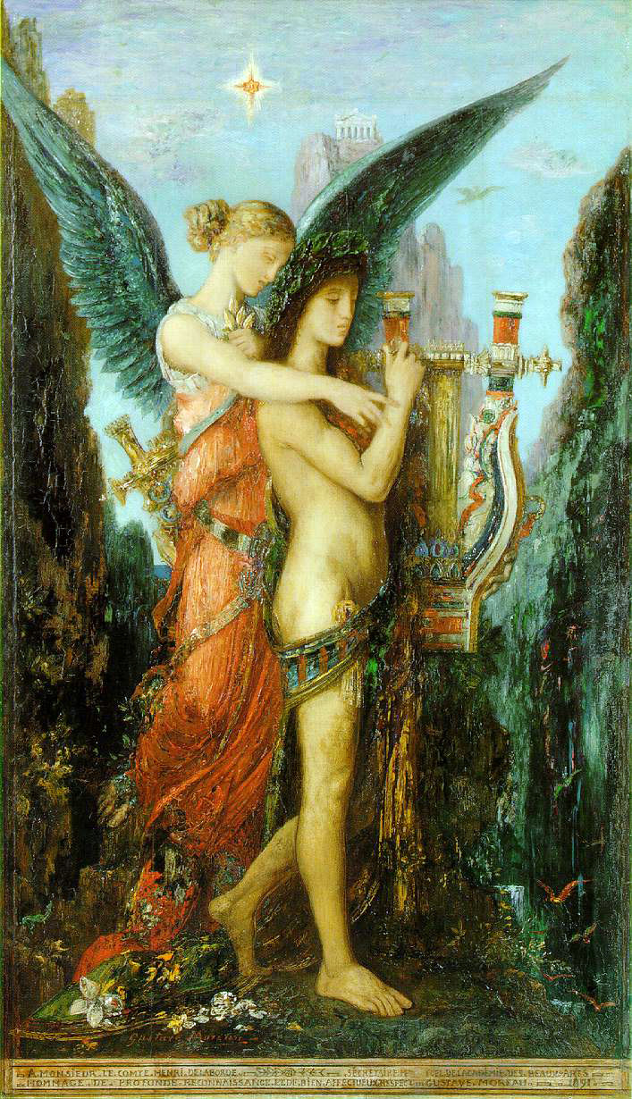 Moreau's Hesiod & The Muse