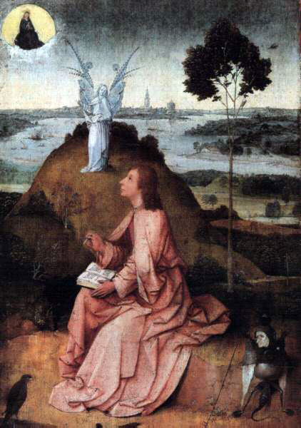 Bosch's St. John On Patmos