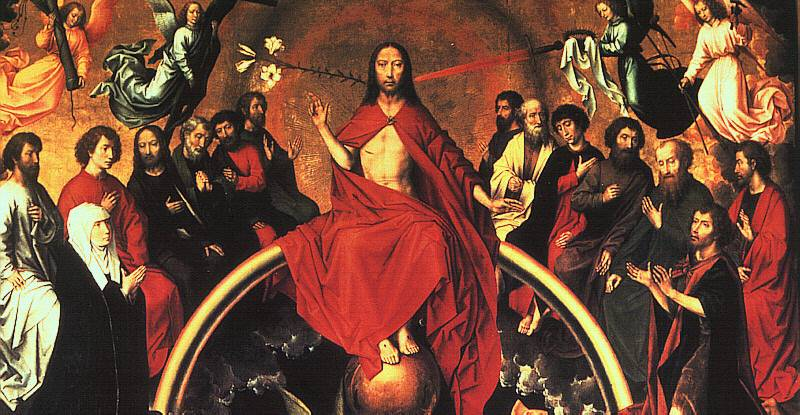 Memling's Last Judgement (detail)