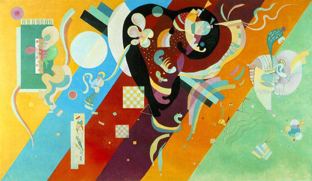 Kandinsky's Composition IX