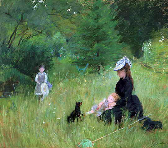 Morisot's In A Park