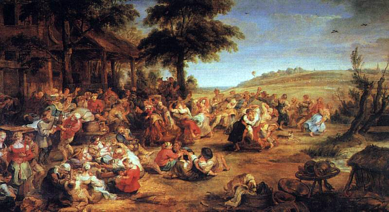 Rubens's Village Feast